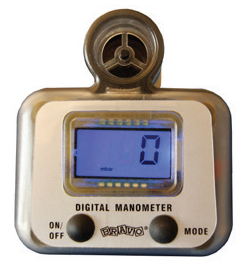 Airgym AIrtrack Manometer